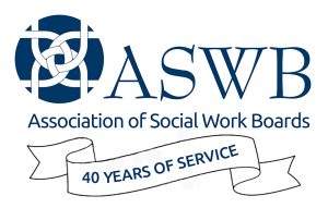 Association of Social Work Boards logo Forty years of service