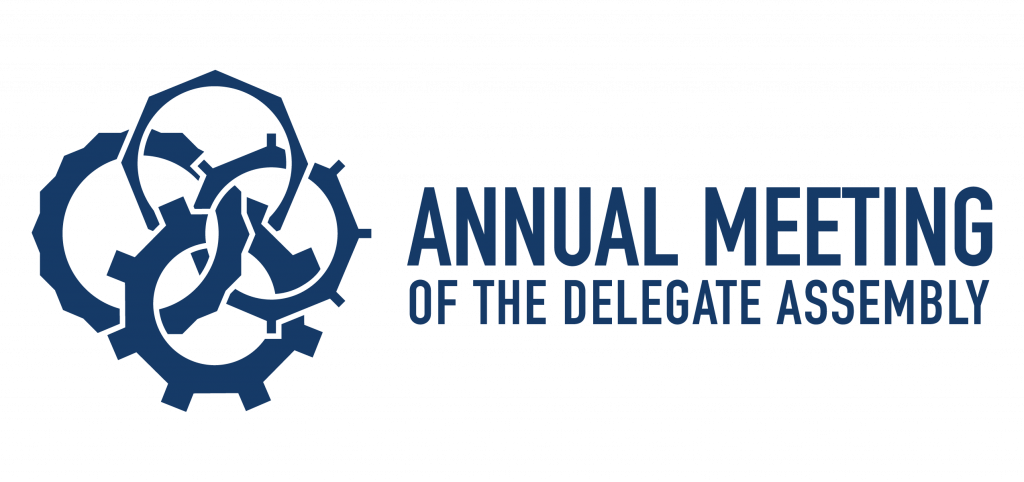 Annual Meeting of the Delegate Assembly logo