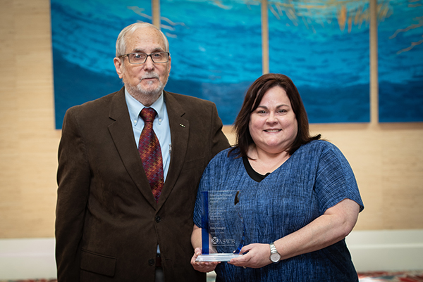 Photograph of 2019 Glenda McDonald Administrator Award