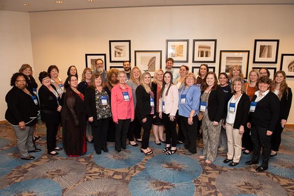 Photograph of ASWB staff