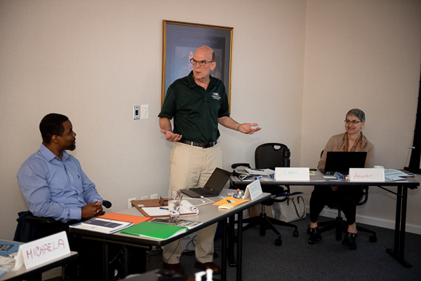 Photograph of facilitators and scholar in the Path to Licensure Institute
