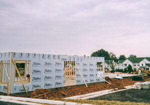Photograph of building construction